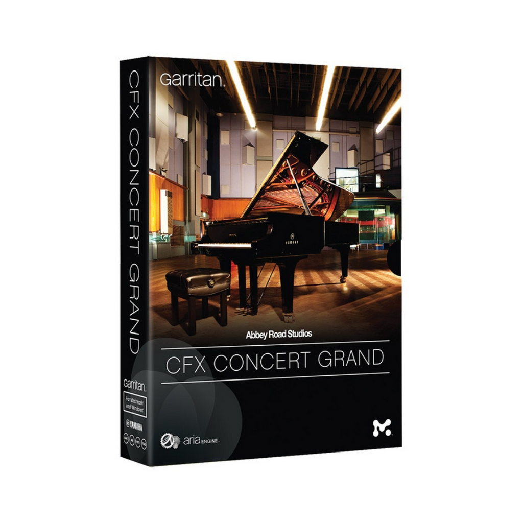 Garritan Abbey Road Studios CFX Concert Grand Piano Virtual Instrument Software - eDelivery