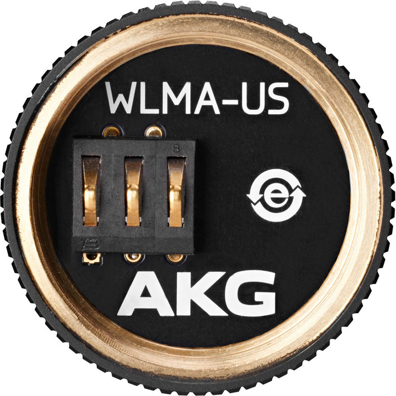 AKG WLMA-US Wireless Microphone Adapter for Shure Wireless Mic Heads (Black)