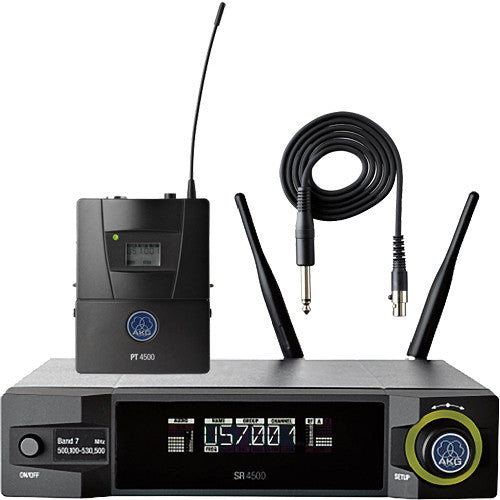 AKG WMS4500 Reference Instrument Set Reference Wireless Microphone System (BD8 570.1 to 600.5 MHz, 50mW)