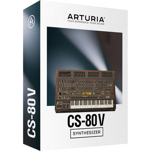 Arturia CS-80 V V3 Virtual Synthesizer Software - eDelivery
