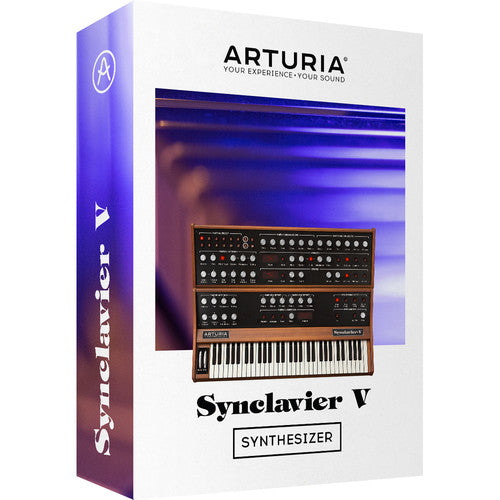 Arturia Synclavier V - Virtual Instrument Synthesizer Software - eDelivery