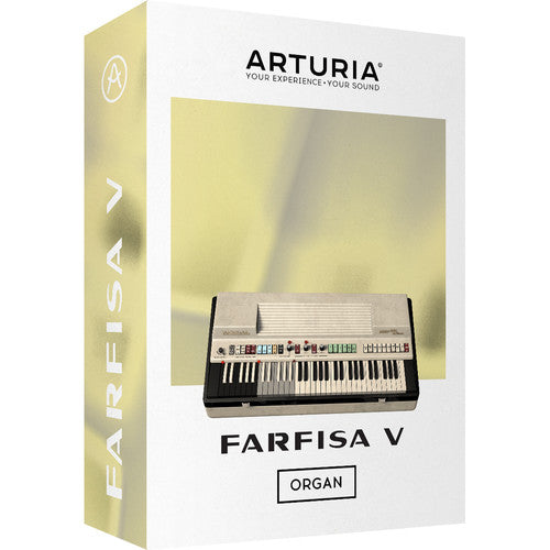 Arturia Farfisa V Combo Organ Virtual Instrument Software - eDelivery