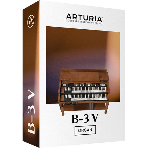 Arturia B-3 V Tonewheel Organ Virtual Instrument Software - eDelivery
