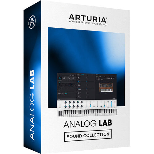Arturia Analog Lab 4 Ultimate Keyboard Sound Collection Software - eDelivery