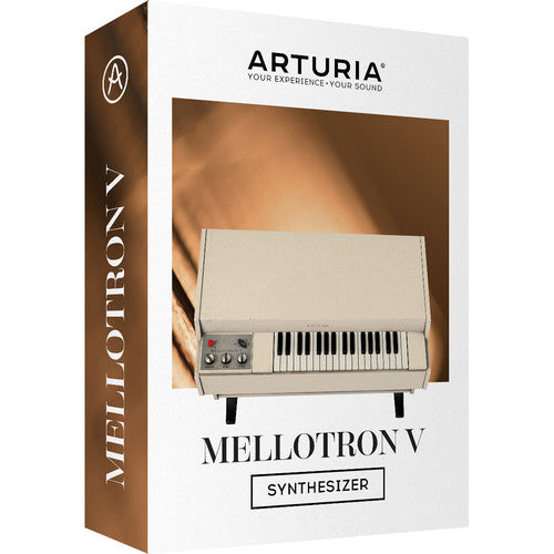 Arturia Mellotron V Virtual Synthesizer Software - eDelivery