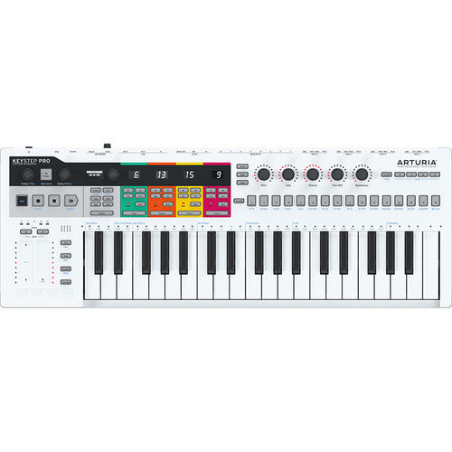 Arturia Keystep Pro Sequencer & Midi Portable Keyboard Controller
