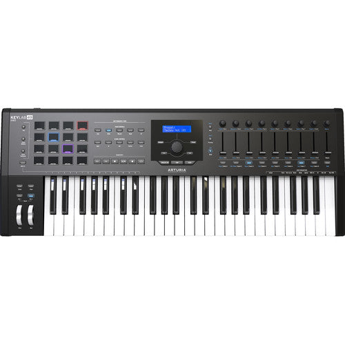 Arturia KeyLab MKII 49 Professional MIDI Semi-Weighted Controller and Software (Black)