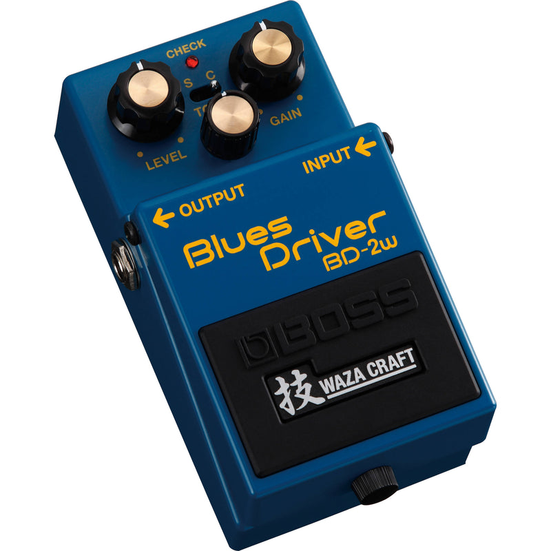 Boss BD-2W Blues Driver Waza Craft Distortion Pedal