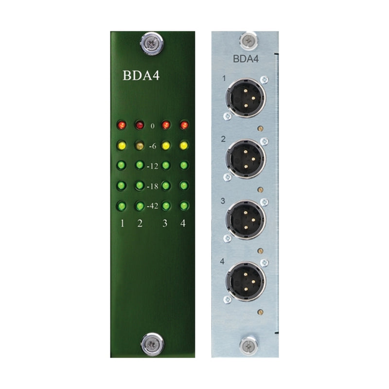 Burl Audio BDA4 4-Channel D/A Daughter Card for B80 Mothership | B80-BDA4