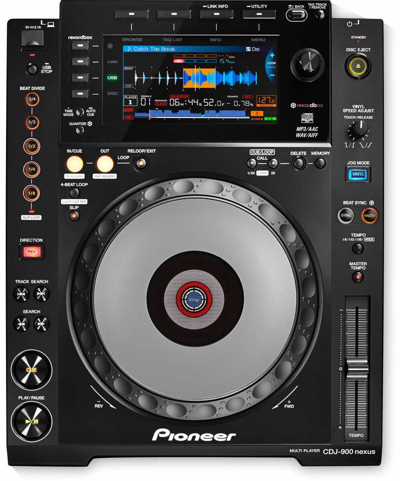 Pioneer DJ CDJ-900NXS Nexus Professional DJ Multi-Player