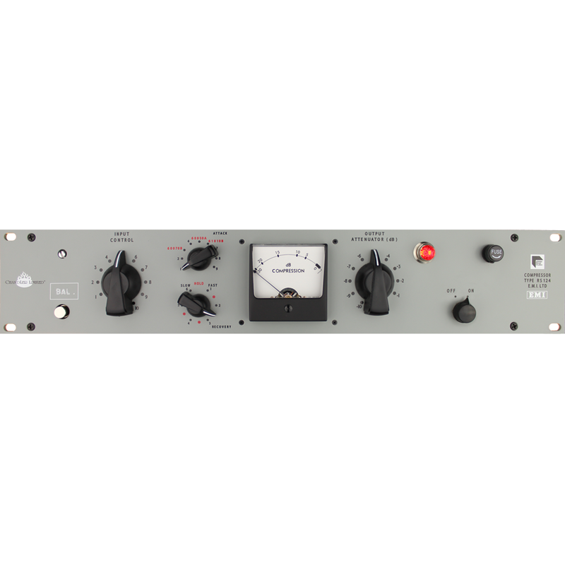 Chandler Abbey Road RS124 Compressor with Stepped Input/Output Switches