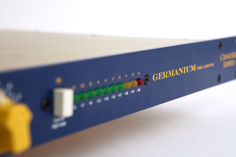 "Chandler Limited Germanium Preamp/DI, Microphone Preamplifier / DI, 1 space 19"" Rack- mount"