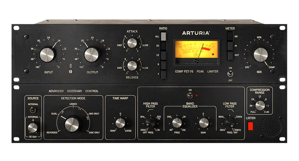 Arturia FET-76 Compressor Software - eDelivery