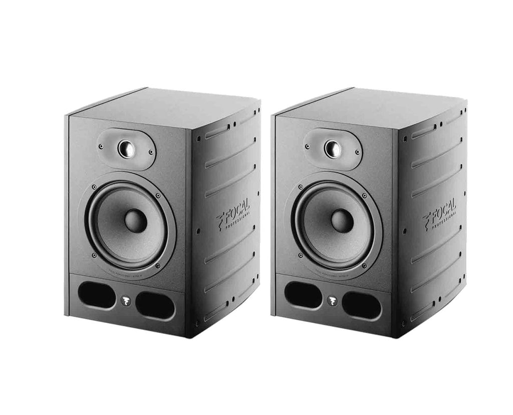 Focal PAIR OF Alpha 65 ACTIVE 2-WAY NEAR FIELD PROFESSIONAL MONITORS (2) Speakers