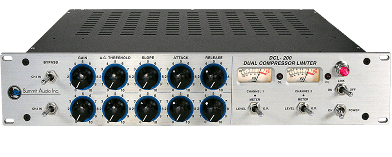 Summit Audio DCL-200 Dual Channel Compressor/Limiter