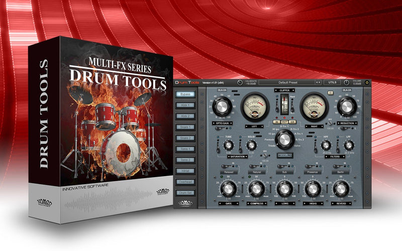 Nomad Factory Drum Tools Software - eDelivery