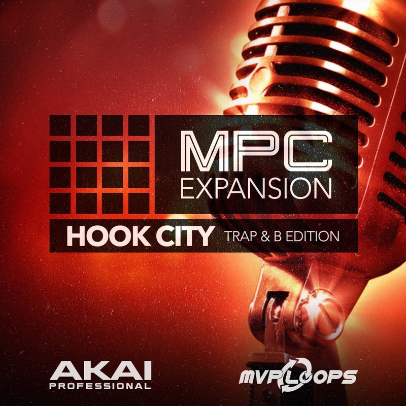 Akai Professional Hook City Trap & B Edition Software - eDelivery