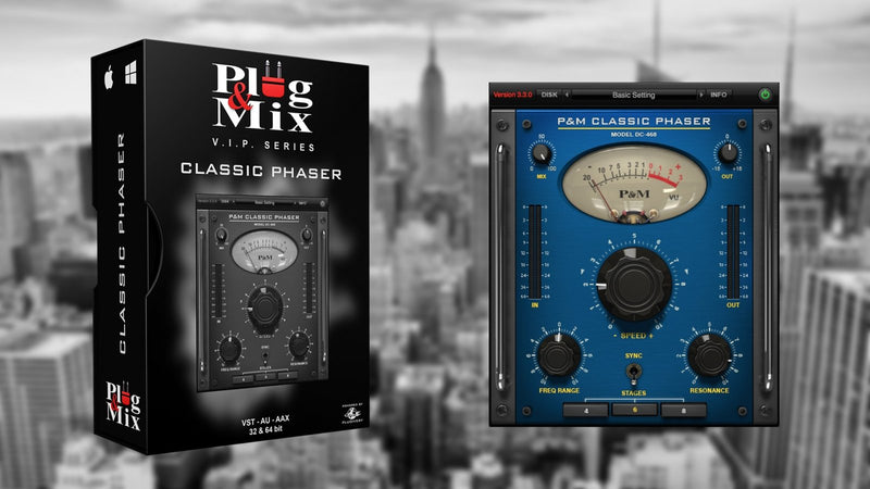 Plug And Mix Classic Phaser Software - eDelivery