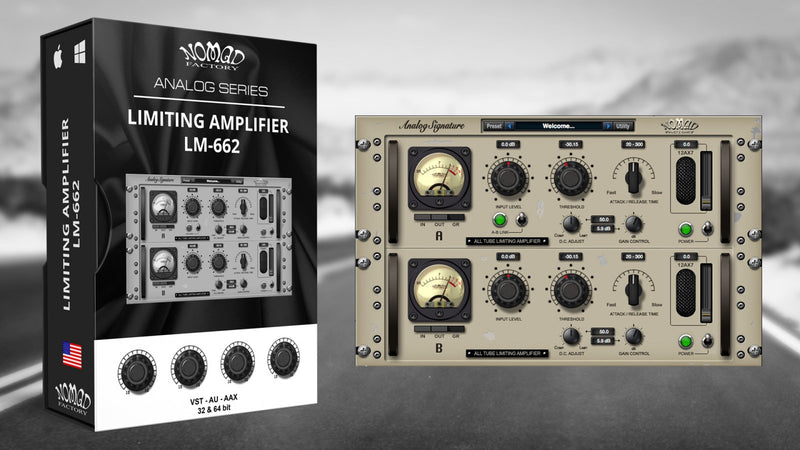 Nomad Factory ASP Limiting Amplifier LM-662 Software - eDelivery