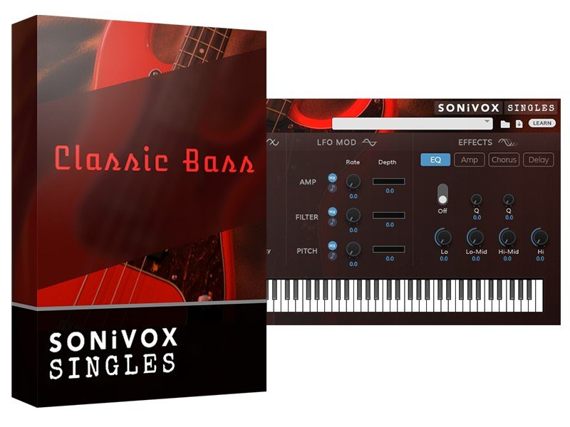 SONiVOX Classic Bass Software - eDelivery