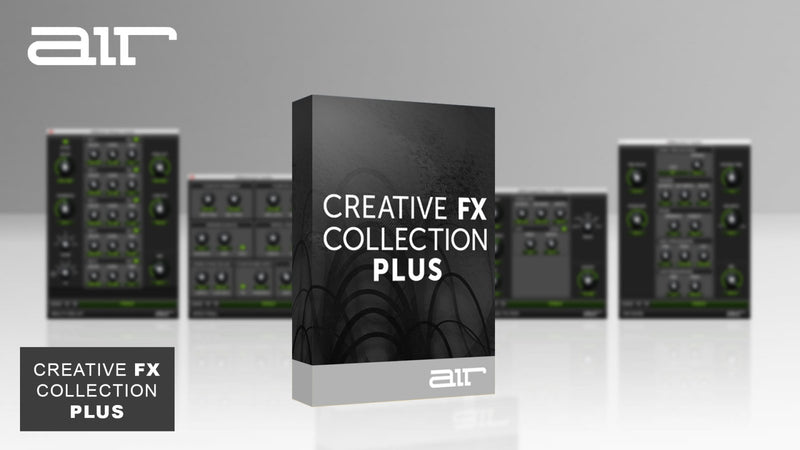 AIR Music Technology AIR Creative FX Collection PLUS Windows Mac AAX VST AU eDelivery