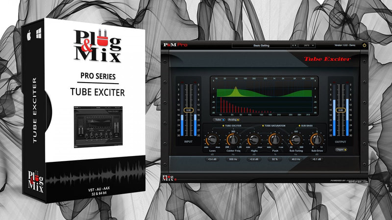Plug And Mix Tube Exciter Software - eDelivery