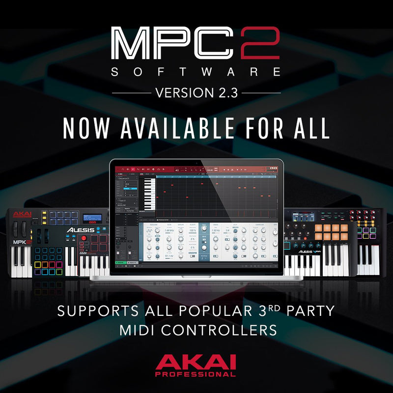 Akai Professional MPC 2.9 Standard Software - eDelivery