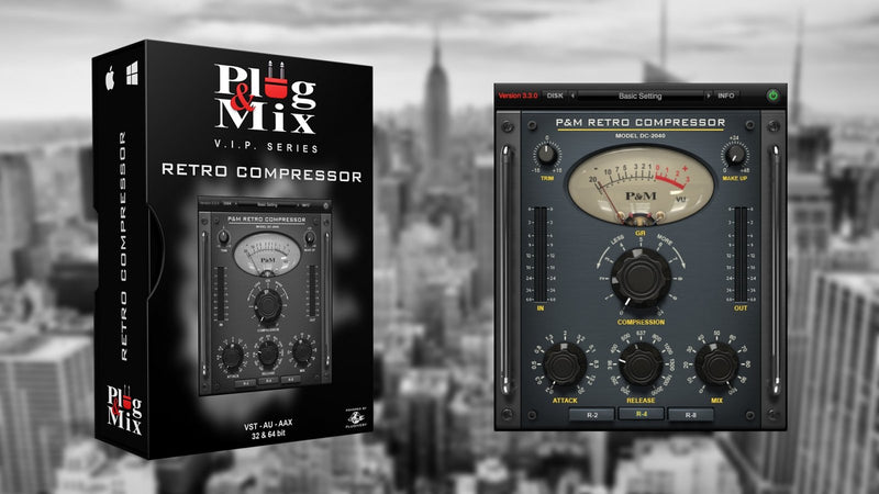 Plug And Mix Retro Compressor Software - eDelivery