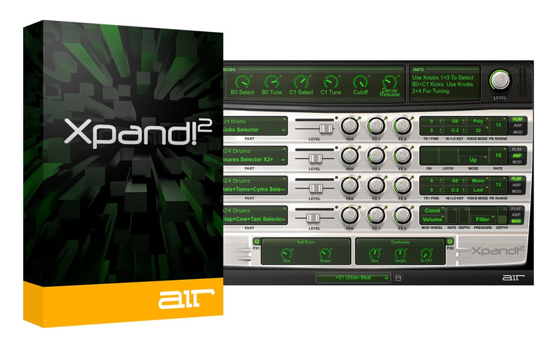 AIR Music Technology Xpand 2 Software - eDelivery