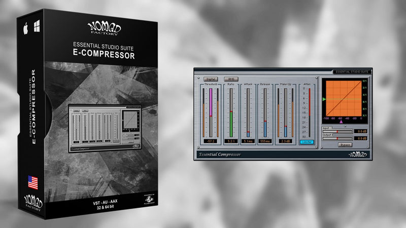 Nomad Factory E-Compressor Software - eDelivery