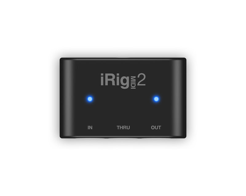IK Multimedia iRig MIDI 2 Portable MIDI Interface for iOS, Mac, and PC