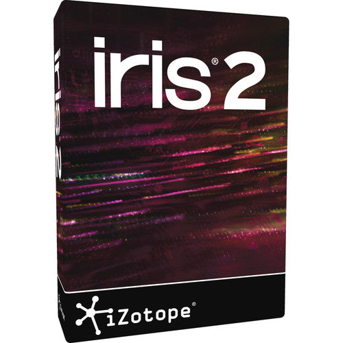 iZotope Iris 2 Sample Based Synthesizer Software - eDelivery