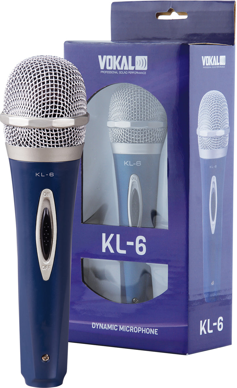 Vokal Professional KL-6 Dynamic Unidirectional Microphone
