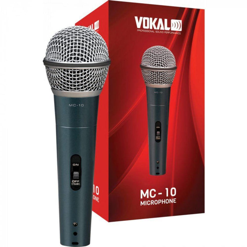 Vokal Professional MC-10 Dynamic Unidirectional Microphone