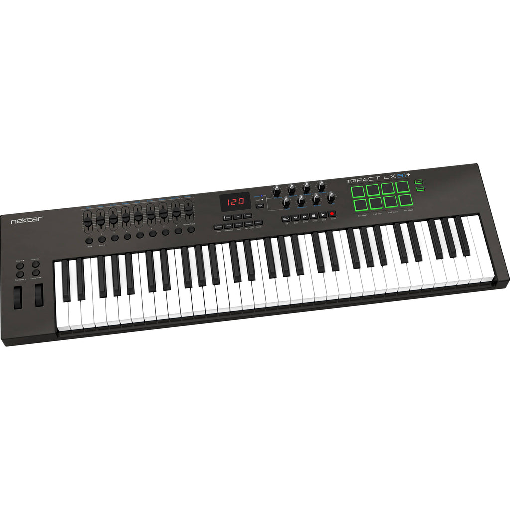 Nektar Technology Impact LX61  61-Key USB MIDI Controller Keyboard