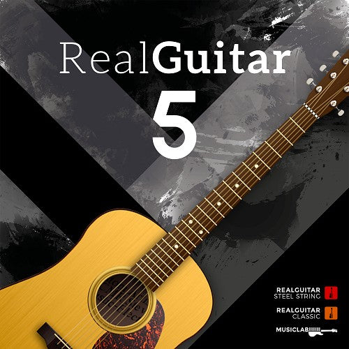Best Service MusicLab RealGuitar 5 Virtual Instrument Software - eDelivery