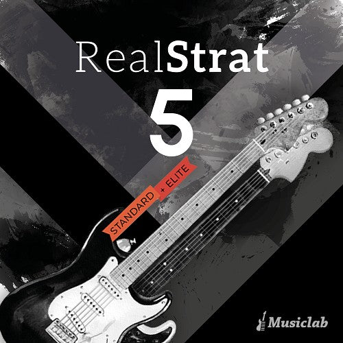 Best Service MusicLab RealStrat 5 Virtual Instrument Software - eDelivery