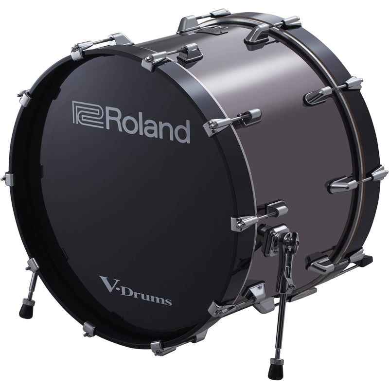 "Roland KD-220 V-Drums 22"" Bass Drum (Black Chrome)"