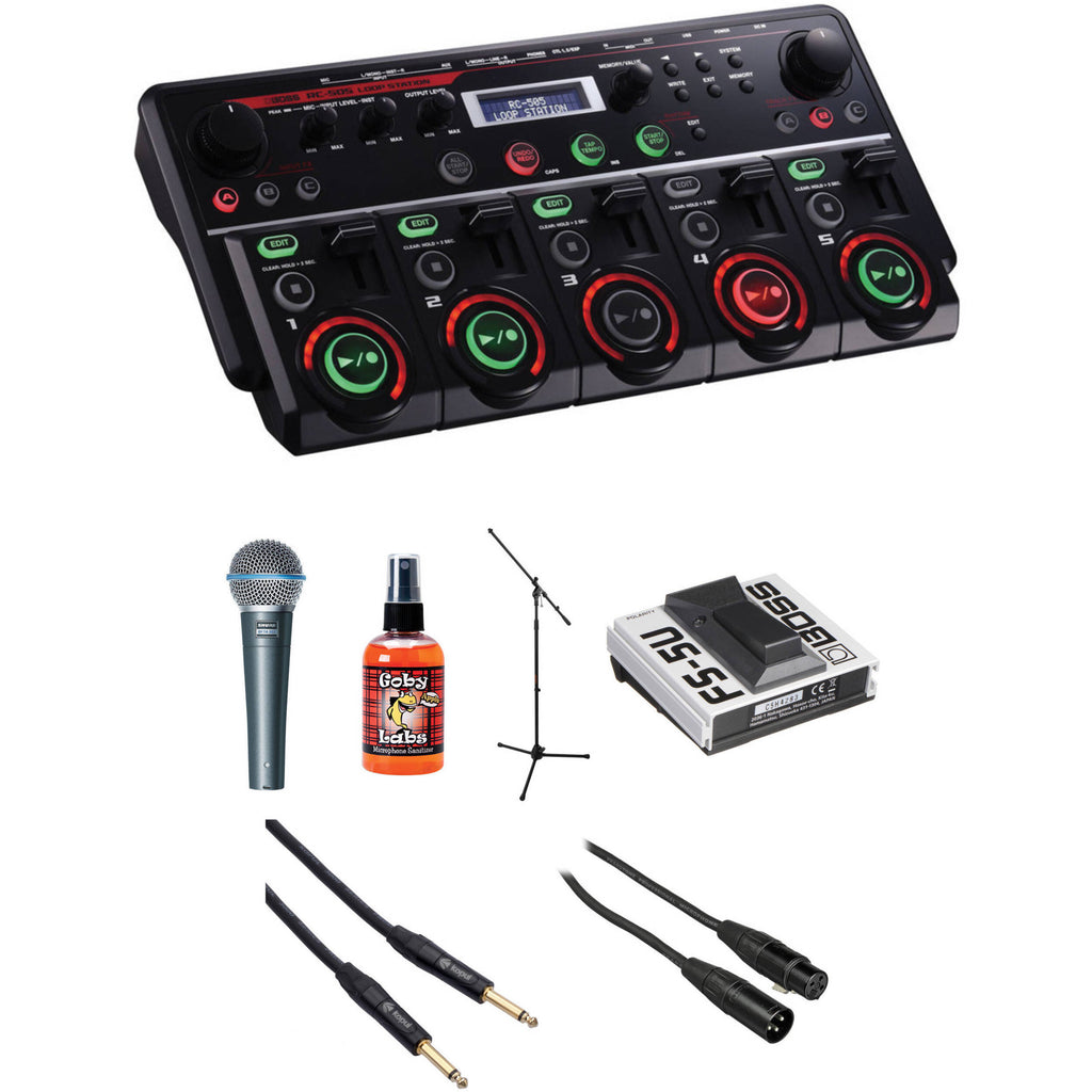 Boss RC-505 Loop Station Beatbox and Performance Kit