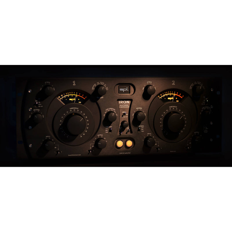 SPL Iron Mastering Compressor (All Black)