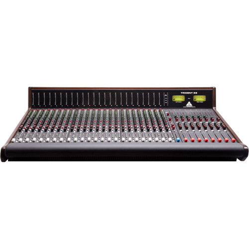 Trident Audio Series 68 Analog Recording Console with LED Meter Bridge (24 Channels)