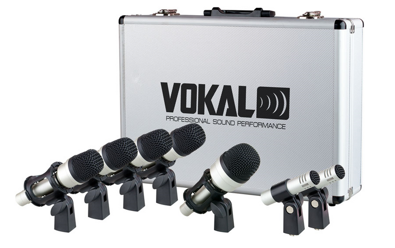 Vokal Professional VDM-7 Drum Microphone Kit