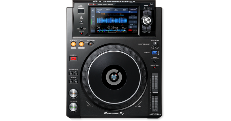 Pioneer DJ XDJ-1000MK2 High-Performance Multi-Player DJ Deck with Touch Screen
