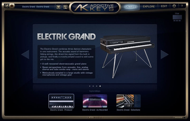 XLN Audio Addictive Keys: Electric Grand