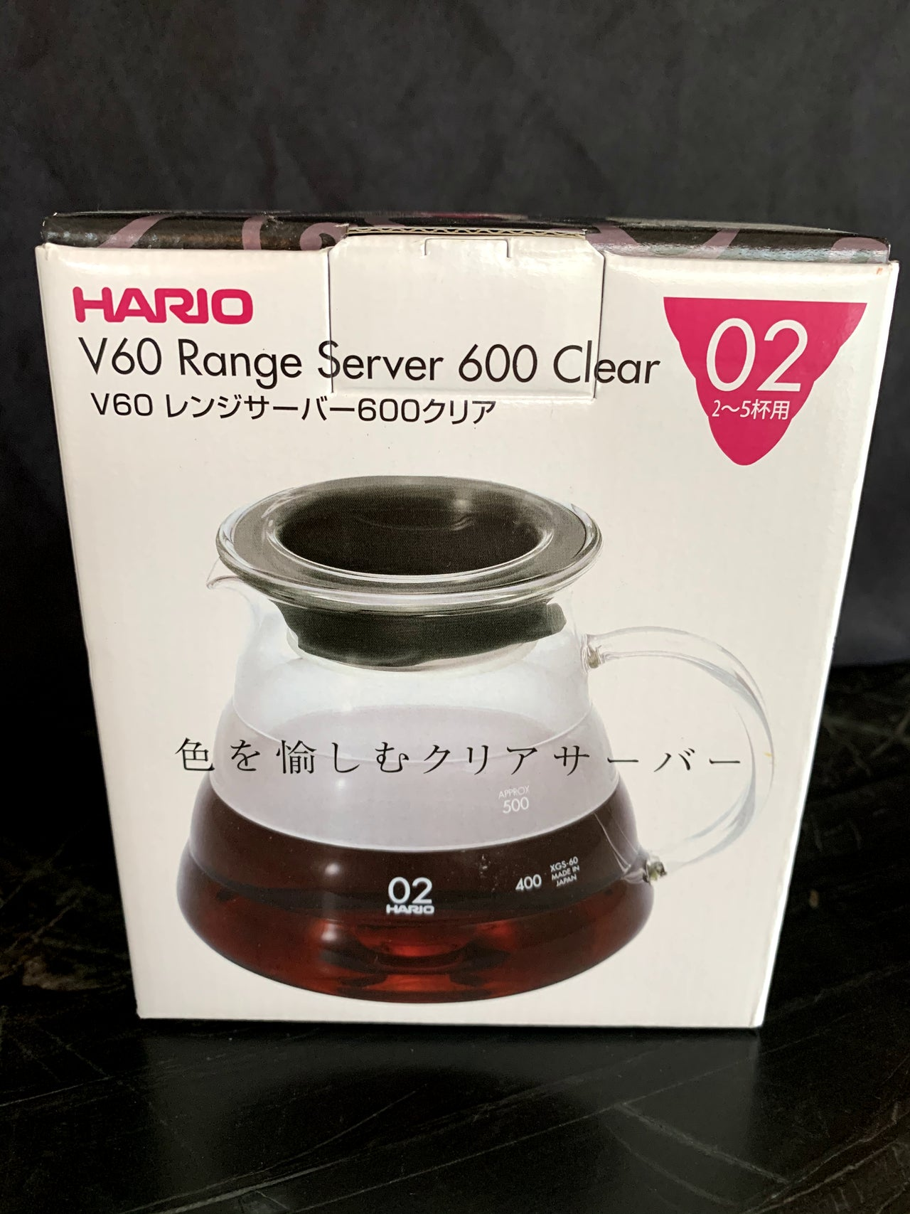 Glass V60 Server 600 by Hario