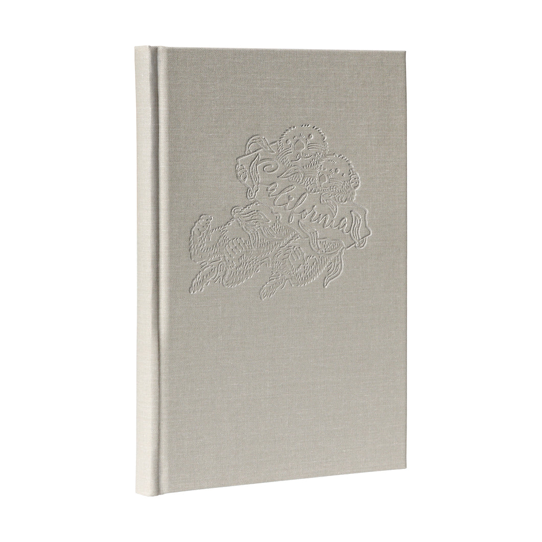 Sea Otter Linen Hardcover Journal