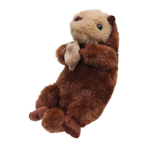 "8"" Sea Otter Plush Toy"