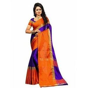 Cotton Silk Sarees with Blouse