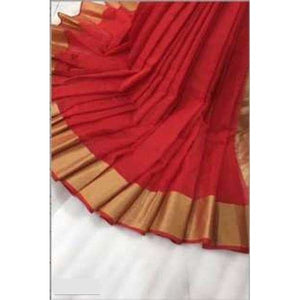 Doriya Cotton Saree (6 Color Design)