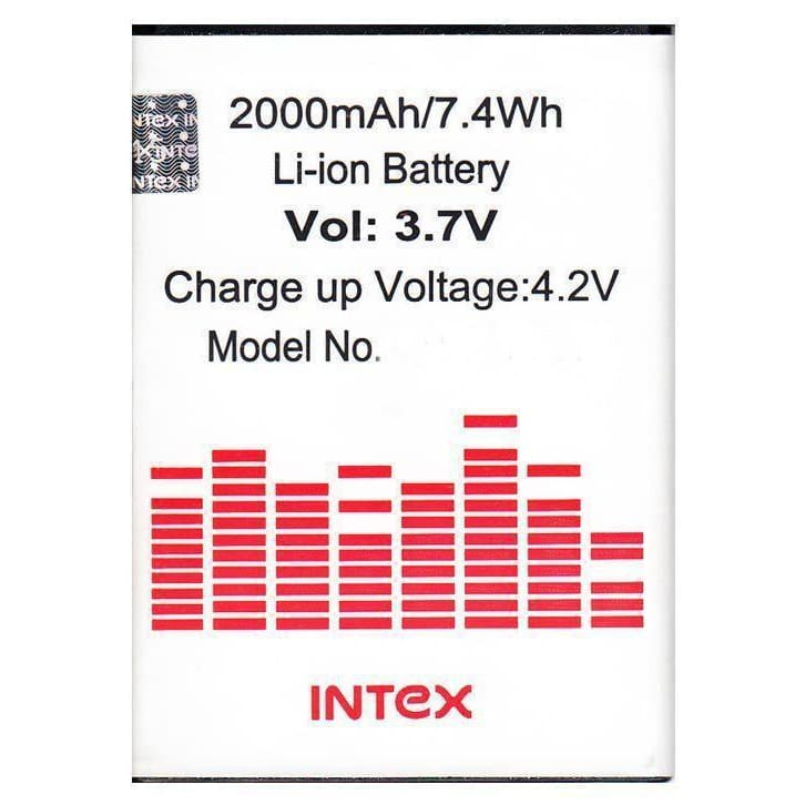 Intex Aqua Q3 Li Ion Polymer Replacement Battery Br1865f By Snaptic
